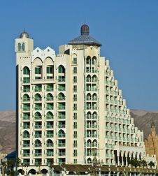 Free View On A Modern Building In Eilat, Israel Stock Photography - 17972132