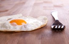 Free Fried Egg And Metal Frog Royalty Free Stock Images - 17972319
