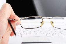 Free Bad Vision. Glasses Stock Images - 17972394