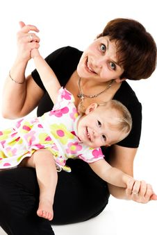 Free Mother And Daughter Stock Photography - 17973332