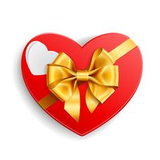 Free Heart Shape Gift Royalty Free Stock Image - 17973476