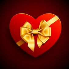 Free Heart Shape Gift Stock Images - 17973564
