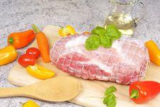 Free Roast Pork Royalty Free Stock Image - 17973696