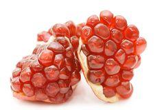 Free Pomegranate Isolated On White Royalty Free Stock Photo - 17973795