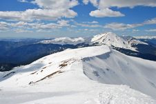 Free Winter In Mountains Royalty Free Stock Photography - 17973857