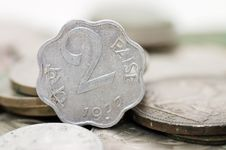 Free Old Indian Coins Royalty Free Stock Photos - 17974168
