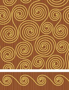 Free Seamless  Background With Circle Stock Photography - 17974182
