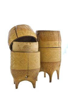 Free Wood Casket Royalty Free Stock Image - 17974886