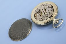 Free Inside Of Pocket Watch. Stock Images - 17974984