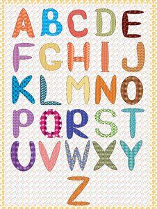 Free Alphabet,CMYK Royalty Free Stock Photo - 17975415