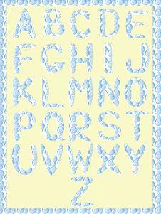Free Alphabet,CMYK Stock Photos - 17975453