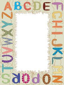 Free Alphabet,CMYK Stock Photos - 17975483