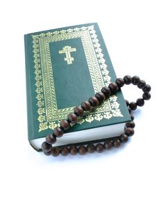 Free Bible And Rosary Beads Stock Image - 17975731