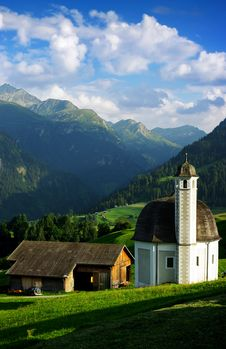 Free Swiss Church Stock Photography - 17975822