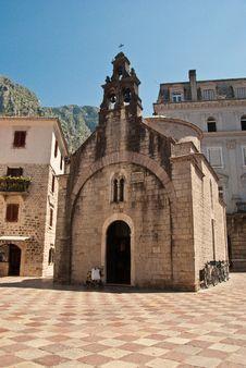 Free Montenegro Church Royalty Free Stock Photography - 17977977