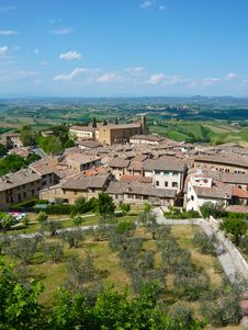 Free San Gimignano, Italy Stock Photography - 17978512