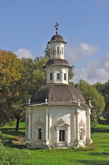 Free Chapel At The Well With Wooden Cupola Stock Image - 17979441