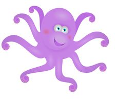 Free Funny Octopus Stock Photography - 17979702