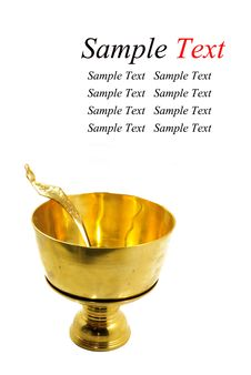 Free Brass And Ladle Royalty Free Stock Image - 17979736