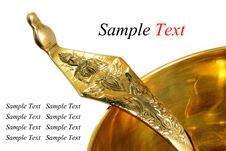 Free Brass And Ladle Stock Photo - 17979750