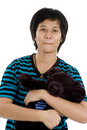 Free Asian Woman With Teddy Bear Royalty Free Stock Images - 17982789