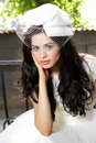 Free Portrait Of A Beautiful Bride Royalty Free Stock Image - 17985026