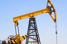 Free Pumpjack Royalty Free Stock Images - 17980369