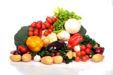 Free Vegetables. Royalty Free Stock Photo - 17981535