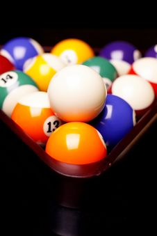 Free Billiard Time! Royalty Free Stock Photo - 17981625