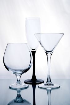 Free Three Glasses Of Wine Stock Image - 17981821