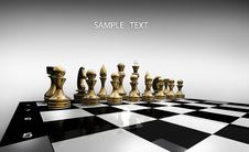 Free Chess Pieces Set Stock Photography - 17983362