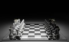 Free Composition With Chessmen Stock Images - 17983464