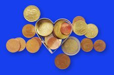 Free Coins. Stock Images - 17983634