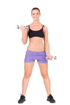Free Fitness Woman Royalty Free Stock Images - 17983849