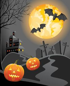 Free Halloween Background Stock Image - 17984431