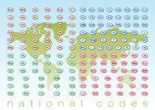 Free National Codes Stock Photos - 17984543