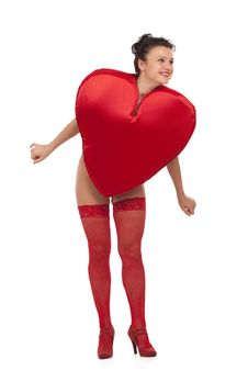 Free Queen Of Hearts Stock Photo - 17984820
