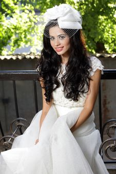Free Beautiful Bride Posing Royalty Free Stock Photography - 17985137