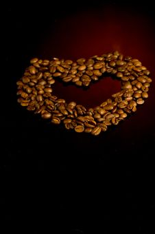 Free Coffee Heart Royalty Free Stock Images - 17985799