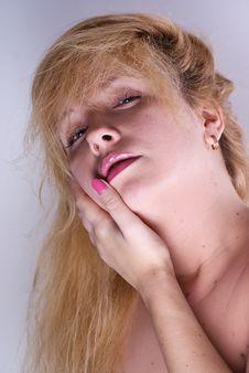 Free Blond Woman Stock Image - 17986761