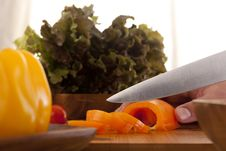 Free Cut Vegetables Stock Images - 17987574