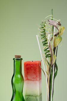 Free Set Of Decorative Twigs Stock Photography - 17987732