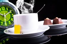 Free Breakfast With The And Chocolate Stock Photo - 17987870