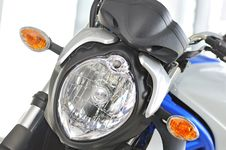 Free Motorcycle Front  Headlights Royalty Free Stock Image - 17988066
