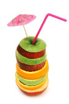 Fruit Coctail Stock Photos
