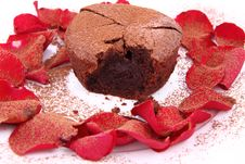 Free Chocolate Souffle Stock Images - 17988234