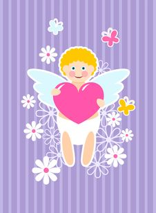 Free Cute Cupid Stock Photos - 17988383