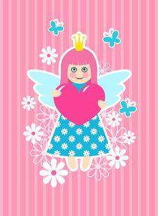 Free Cute Princess Stock Images - 17988394