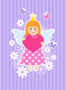 Free Cute Princess Stock Image - 17988411