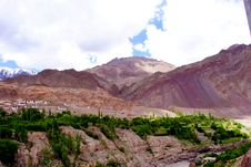 Free Beautiful Ladakh Mountain Scenery Royalty Free Stock Photos - 17988868
